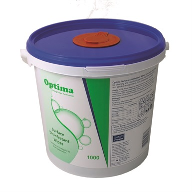 Optima Surface Disinfectant Wipes - Large Tub
