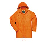Orange Portwest Classic Rain Jacket - S440