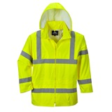 Portwest Hi-Vis Rain Jacket - H440