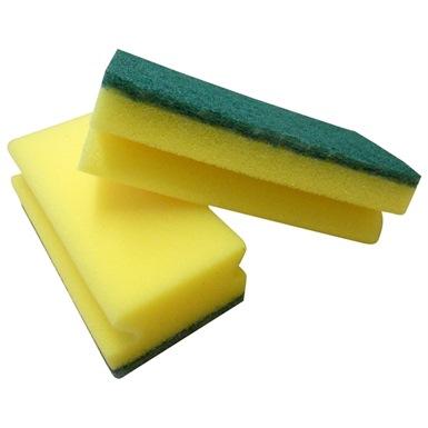 Pro Hand Grip Sponge Scourers 10 Pack