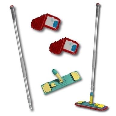 Pro Wet Microfibre Mop Kit