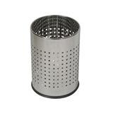 Probbax Round Waste Basket 10L, Mirror Stainless Steel - WB-1011-MSSTL