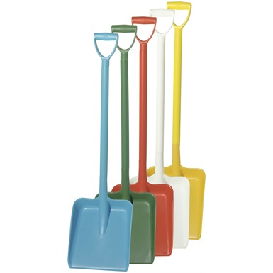 Professional Heavy Duty Food Industry D Grip Plastic Shovel