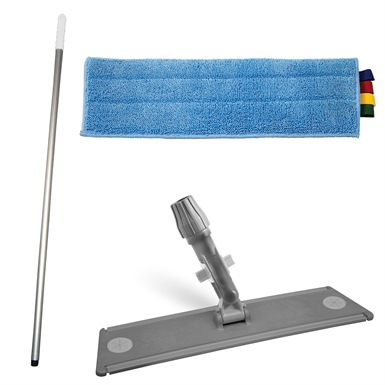 Ramon Hygiene Microfibre Flat Mopping Starter Kit