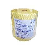 Ramon Hygiene Yellow All Purpose Cloth On A Roll - 787