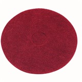 "Red Floor Pad Light Clean Buffing 15"" - TF15R"