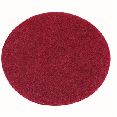 Red Floor Pad Light Clean Buffing 16""