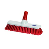 Red Food Industry Hygiene Broom - NHB12