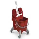 Red Kentucky Mop Bucket, 30 litre - 6475