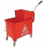 Red Kentucky Mop Bucket - MC068