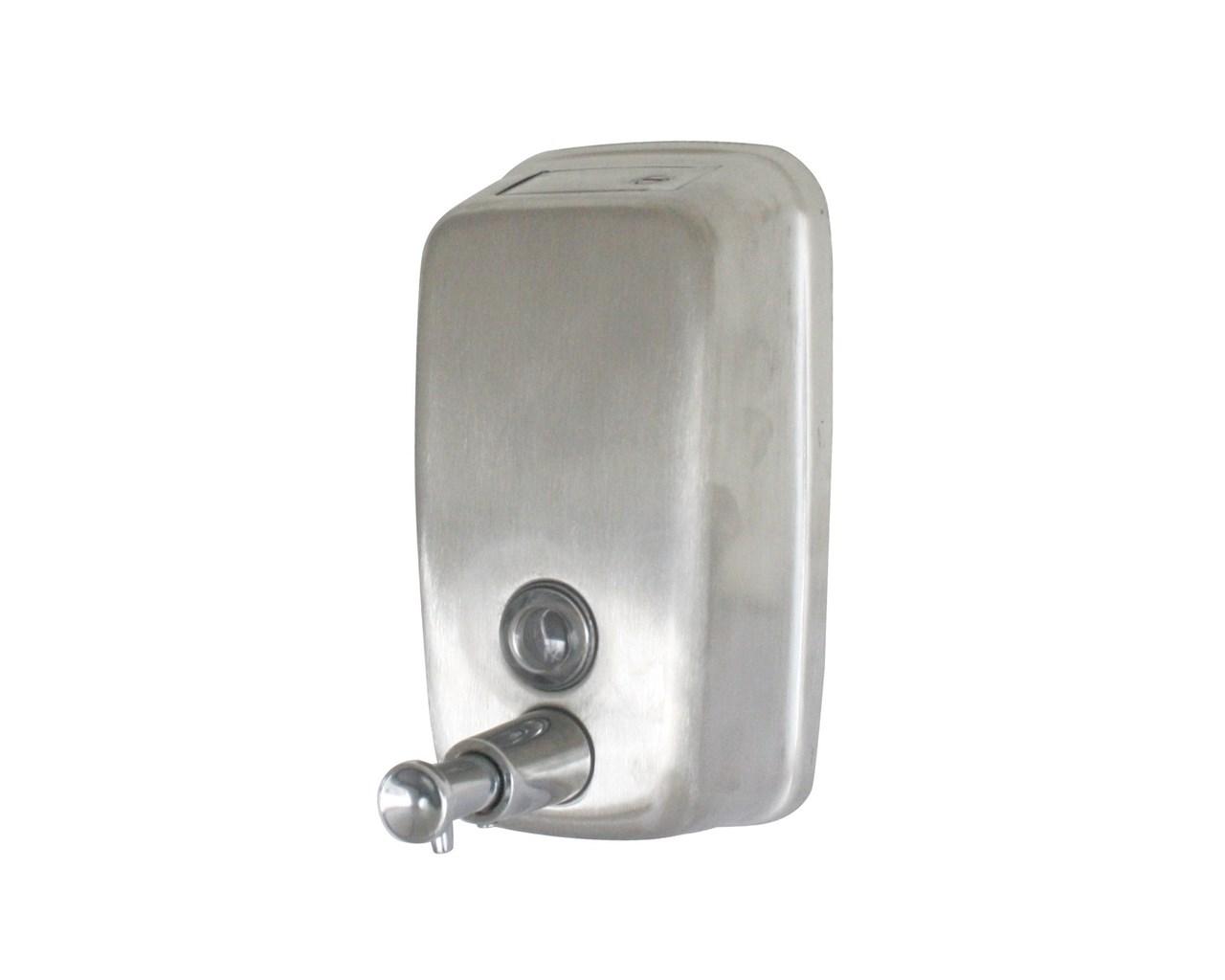stainless steel soap dispenser (ml bulk fill)  u group  - stainless steel soap dispenser (ml bulk fill)