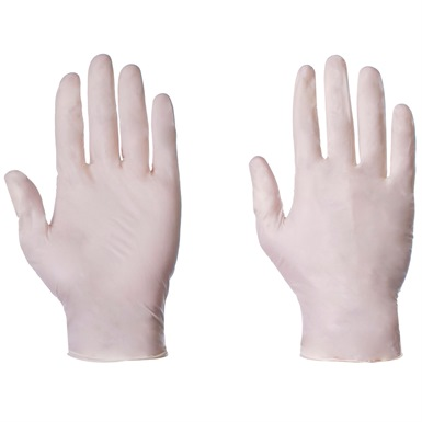 Supertouch Latex Powder Free Gloves box of 100