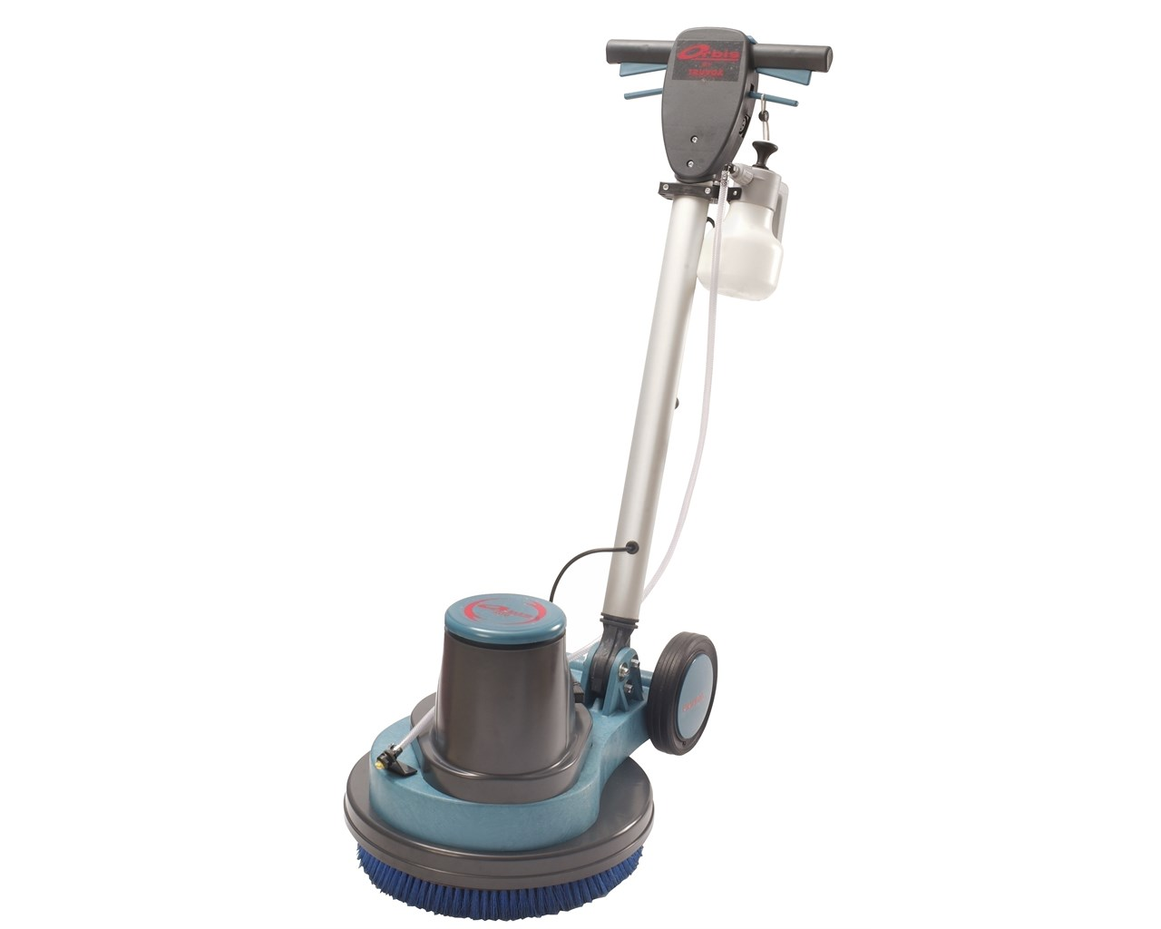 Truvox orbis 400 17 rotary floor machine complete for Floor cleaning machine