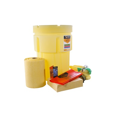 Tygris 200 Litre Chemical Overpack Drum Spill Kit