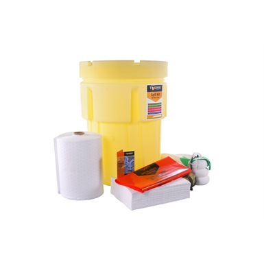 Tygris 200 Litre Oil Only Overpack Drum Spill Kit