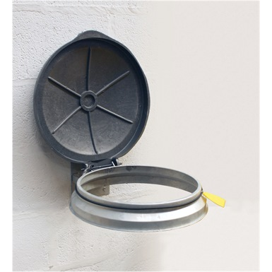 Wall Mounted Sack Holder (Galvanised)