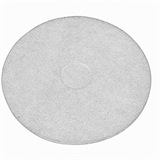 "White Floor Pad Polishing 17"" - TF17W"