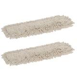 White Ramon Hygiene cotton V-Sweeper head - KIT915.V.SNYB
