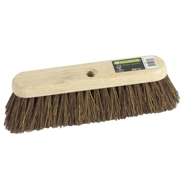 "Woodlands 12"" Bassine Sweeping Brush (Threaded)"