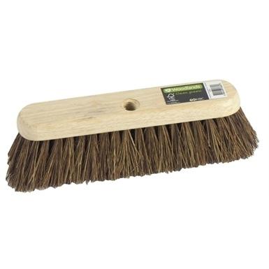 "Woodlands 12"" Bassine Sweeping Brush (Threaded)"