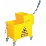 Yellow Kentucky Mop Bucket - MC068